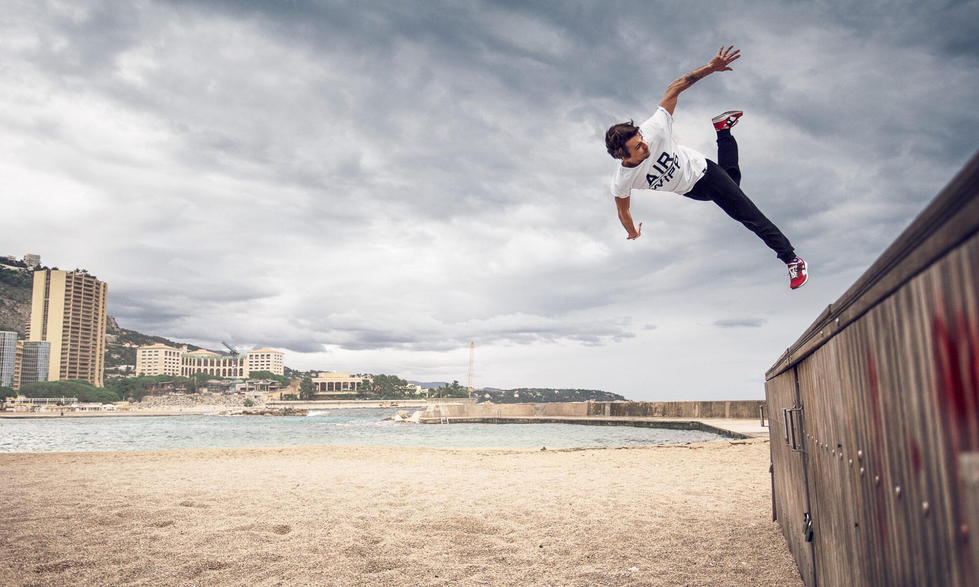 Air Wipp -  Allt inom Parkour och Free running